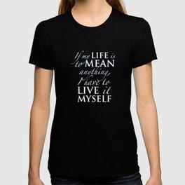 PJO - Live it myself T-shirt