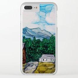 Bar-U Ranch Clear iPhone Case