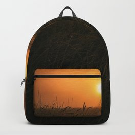 golden sunrise over carinthia Backpack