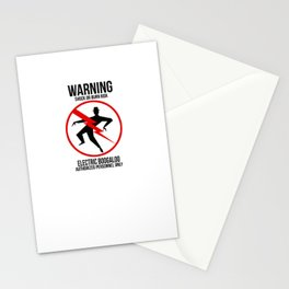 Electric Boogaloo Warning Stationery Cards