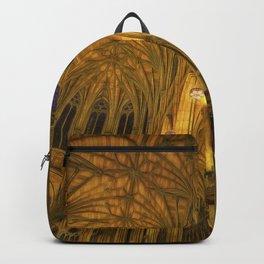 Golden Light Cathedral Backpack
