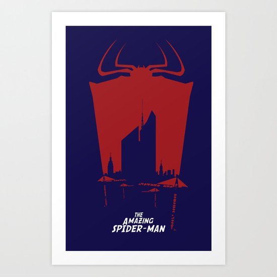 #AmazingSpiderMan‬ Final Poster Art Print