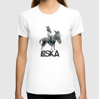 warrior T-shirts featuring Warrior by LOSKA