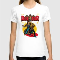 comic T-shirts featuring Doctor Comic by harebrained