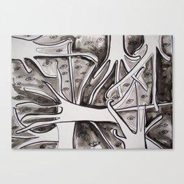 Eyestrees Canvas Print