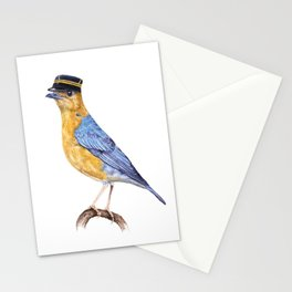 Monsieur thrush Stationery Cards