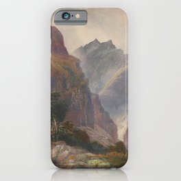 John Gully - In the Southern Alps iPhone Case