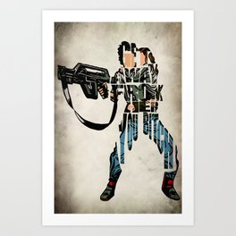 Ellen Ripley from Alien Art Print