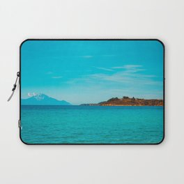 Some mountains in the sea Laptop Sleeve