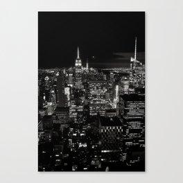 New York BW 02 Canvas Print