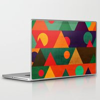 moon phase Laptop & iPad Skins featuring The moon phase by Picomodi