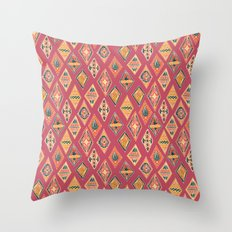 Desert Diamonds Pattern Throw Pillow