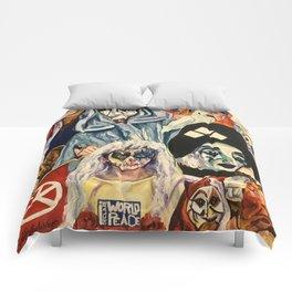 I Declare World Peace Comforters