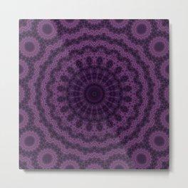 Plum kaleidoscope 2 Metal Print