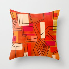 The Hat Dance Throw Pillow