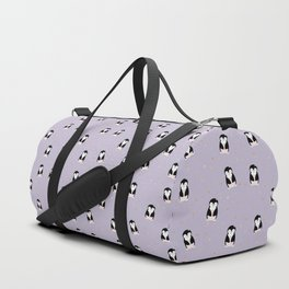 little penguin pattern Duffle Bag