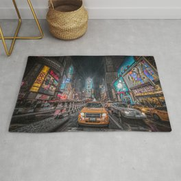 Times Square NYC Rug