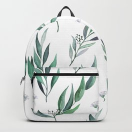 Native Gum Leaves Backpack