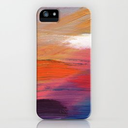 Haze iPhone Case