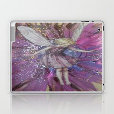 Pink Lady Garden Fairy Art Laptop & iPad Skin