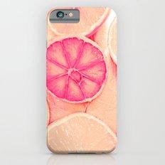 Soft Orange Love Peace Slim Case iPhone 6s