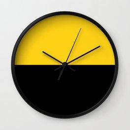Saxony Anhalt region flag germany province Wall Clock