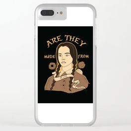 Wednesday Addams - Girl Scouts Clear iPhone Case