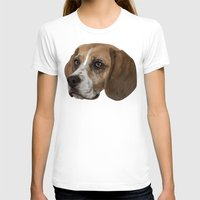 beagle T-shirts featuring Beagle by Goncalo