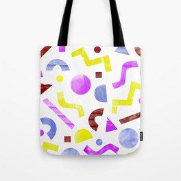 squiggles eighties Tote Bag