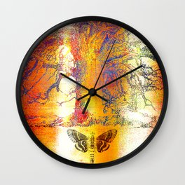The mystic tree Wall Clock