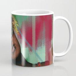 Tropical Afro Girl Coffee Mug
