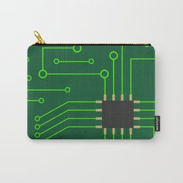 Microchip Pcb, tech print Carry-All Pouch