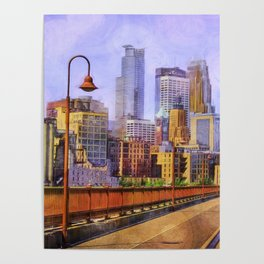 The city is calling my name today. Poster