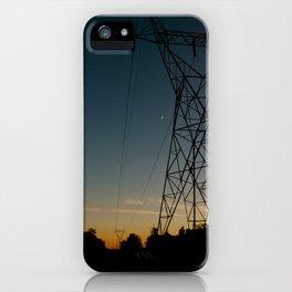 Industrial Sunset iPhone Case