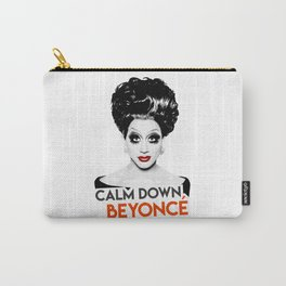 """""""Calm down Bey!"""" Bianca Del Rio, RuPaul's Drag Race Queen Carry-All Pouch"""