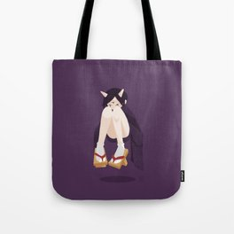 Ghost - Purple Tote Bag