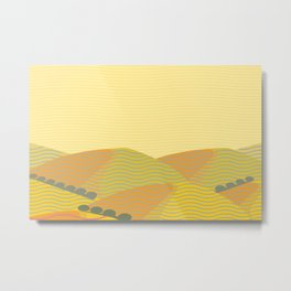 California Hills (Horizontal) Metal Print