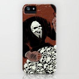 Monkey Skull Suit iPhone Case