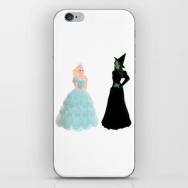 Elphaba and Glinda iPhone Skin
