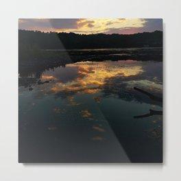 Cosmos Reflection Metal Print