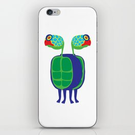 Animal Mardi Gras: Turtle iPhone Skin
