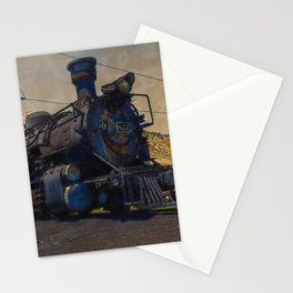 On Track - Vintage Steam Train Stationery Cards