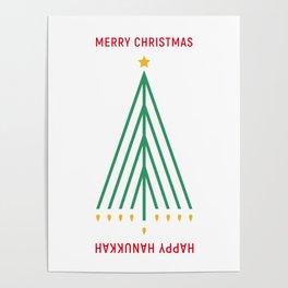 Merry Christmas, Happy Hanukkah Poster