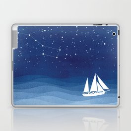 big dipper, sailboat Laptop & iPad Skin