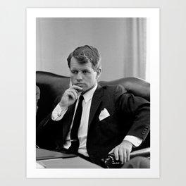 Robert Kennedy Art Print