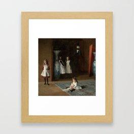 The Daughters of Edward Darley Boit by John Singer Sargent (1882) Framed Art Print