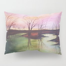 154, watercolor Pillow Sham