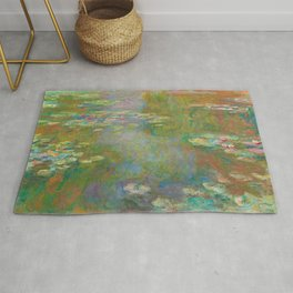 Claude Monet - Water Lily Pond Rug
