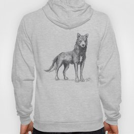 The Lone She-Wolf Hoody