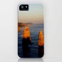Glowing Rock Stacks iPhone Case